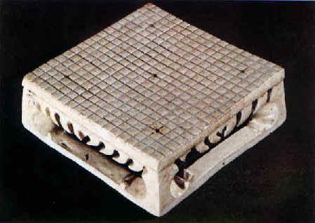 Ældste 19x19 Go bræt fund 595 e. Kr