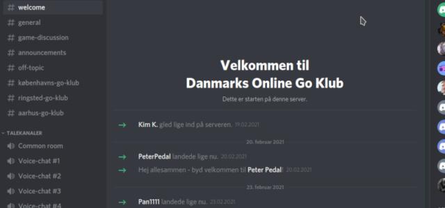 Danmarks Online Go Klub Discord