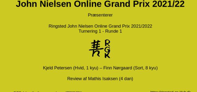 JNOGP-1-1 Review Kjeld Petersen Finn Nørgaard